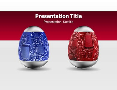 Nano Technology Powerpoint Templates