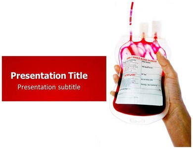 Blood Donation Powerpoint Templates