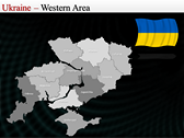 Map of Ukraine  ppt templates