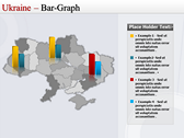 Map of Ukraine  slides for powerpoint