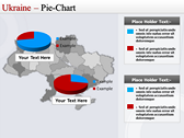 Map of Ukraine  backgroundPowerPoint Templates