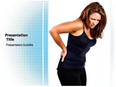 Back pain Diagnosis Powerpoint Templates