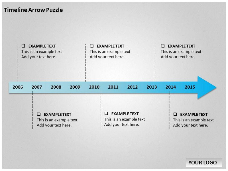 Timeline arrow puzzle template for powerpoint timeline puzzle template my toneelgroepblik Gallery