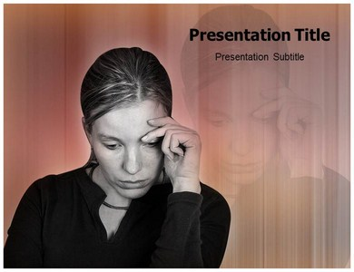 Single Lady Powerpoint Templates