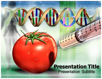 Genetic Modification Powerpoint Templates