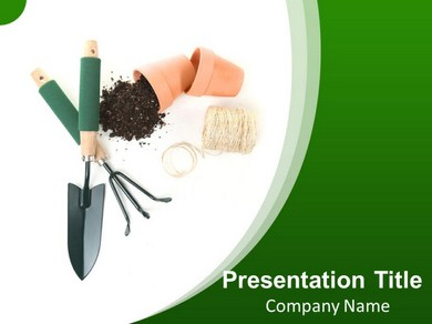 Gardening Tips Powerpoint Templates