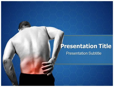 Back Pain Health Powerpoint Templates