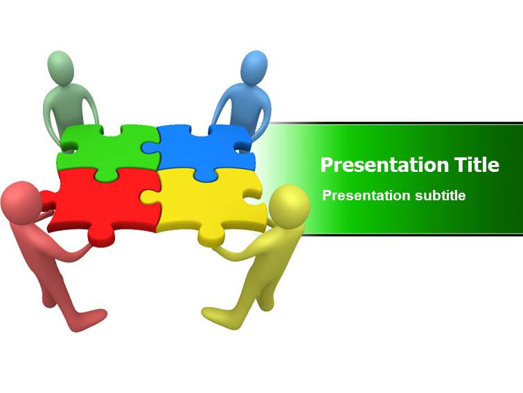 Team Work Powerpointppt Templates Ppt Template On Team Working