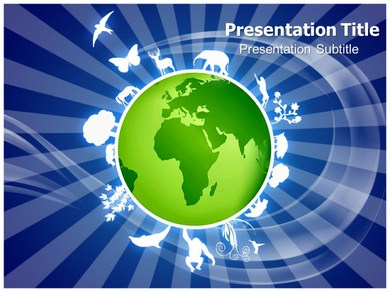 Planet Animals Powerpoint Templates