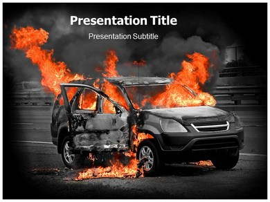 Burn Out Tees Powerpoint Templates