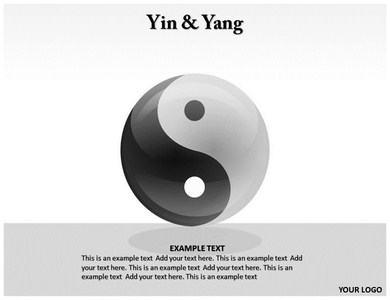 Yin and Yang Powerpoint Templates