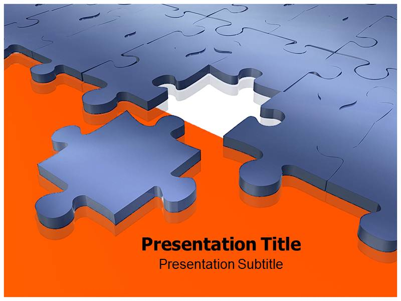 Puzzle 1 Powerpoint Templates