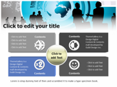 Global Corporate power point background templates