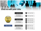 Global Corporate ppt themes template
