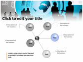 Global Corporate backgroundPowerPoint Templates
