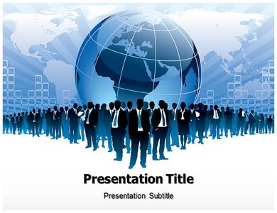Globalization Issues Powerpoint Templates