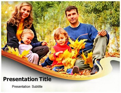 Family Outing Powerpoint Template | Family Picnic PPT