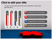 Business Puzzle powerpoint themeprofessional