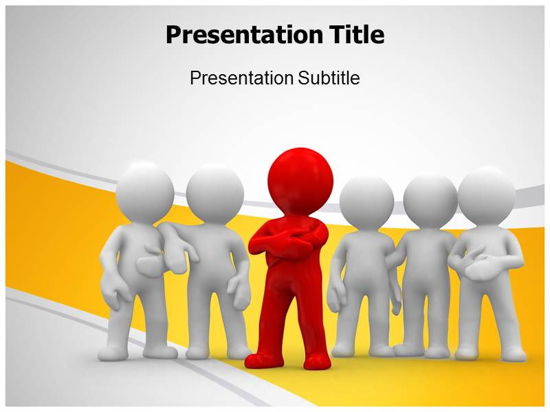 Team Spirit Behaviour Powerpoint Templates