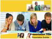 Student Orientation powerPoint template