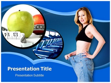 Weight Loss Tips Powerpoint Templates