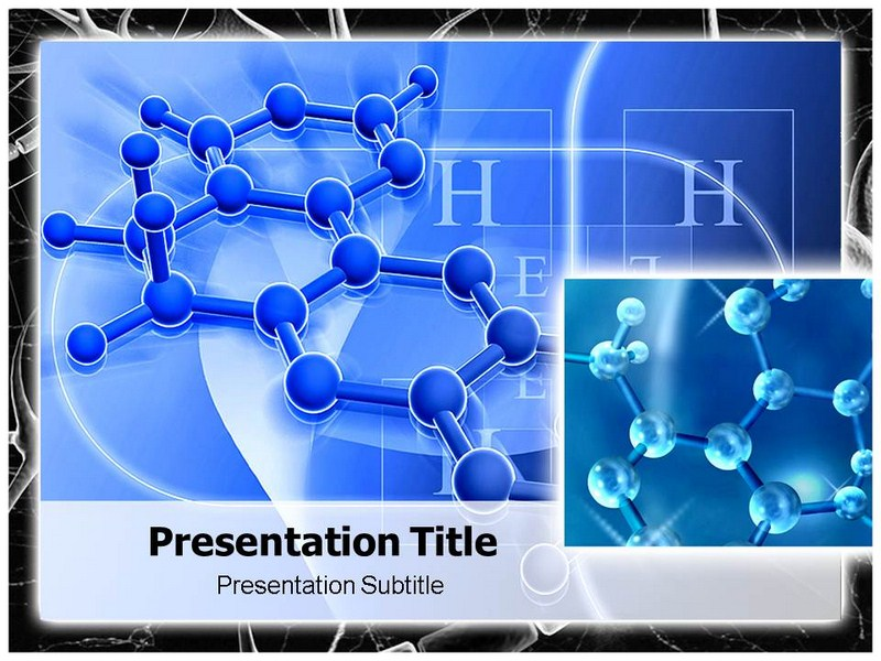 Molecule Structure Powerpoint Templates