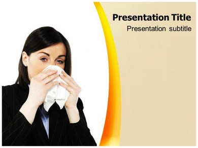 Cold Flu Fever Powerpoint Templates