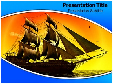 Pirate Ship 1 Powerpoint Templates
