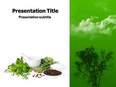 Homeopathy Therapy Powerpoint Templates