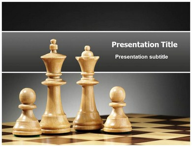 chess strategy powerpoint ppt templates ppt template for chess