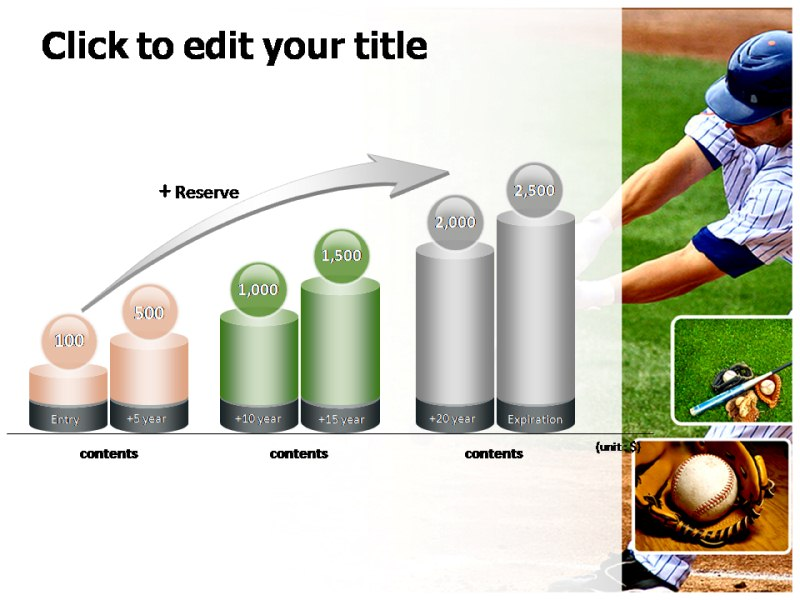 Baseball Leauge Powerpoint Templates