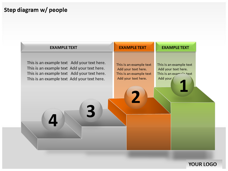 Step Diagram Powerpoint Templates