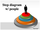 Step Diagram powerPoint template