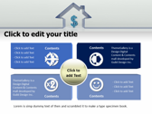 Property Investment power point background templates