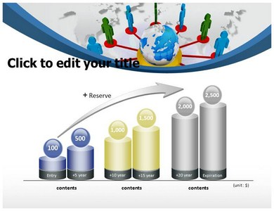 Global Network 2 Powerpoint Templates