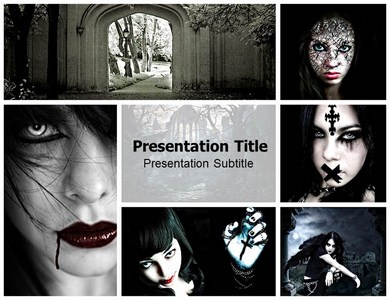 Gothic Powerpoint Ppt Templates Free Gothic Powerpoint
