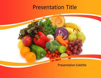 Diets and nutritions Powerpoint Templates