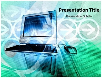 Computer Generations History Powerpoint Templates