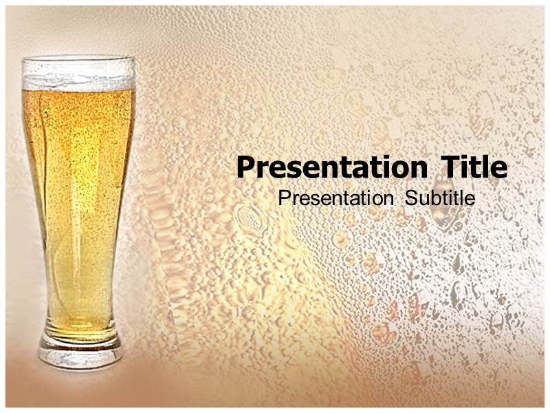 beer brands powerpoint background templates and slides