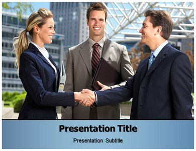 Business Etiquette Powerpoint Templates