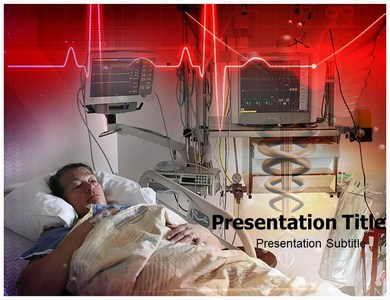 Cardiac Intensive Care Powerpoint Templates