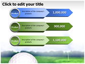 Golf Ball powerPoint background