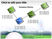 Golf Ball powerpoint backgrounds download