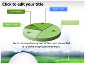 Golf Ball themes for power point