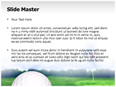 Golf Ball powerPoint templates