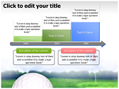 Golf Ball powerPoint themes