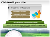 Golf Ball power Point theme