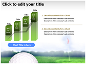 Golf Ball slides for powerpoint