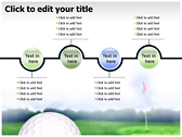 Golf Ball power Point templates