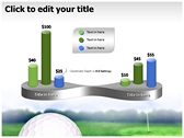 Golf Ball powerPoint backgrounds